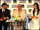 Anand Sharma, Yash Chopra, Deepika Padukone