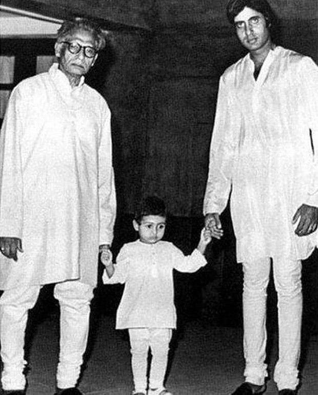Check out Abhishek Bachchan's heart-warming message for late grandfather Harivansh Rai Bachchan
