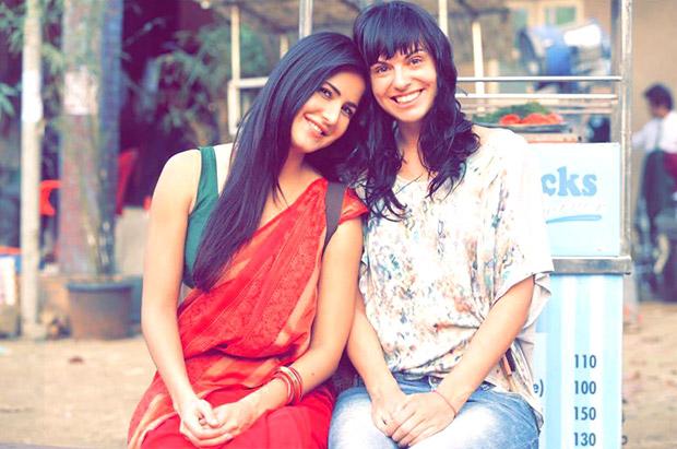 Check out Katrina Kaif dons a saree on the sets of Jagga Jasoos