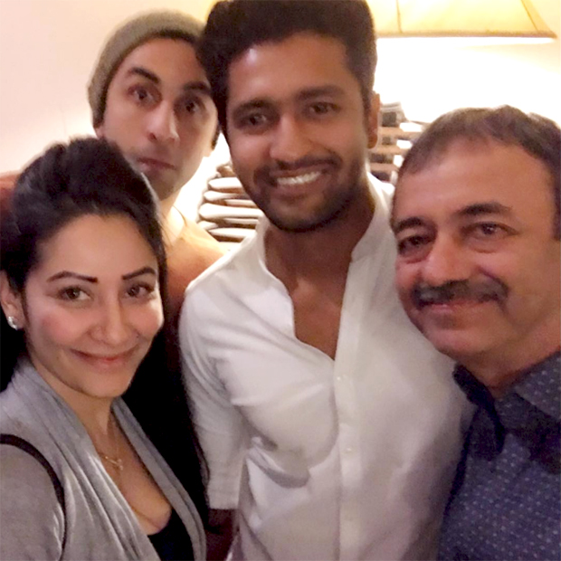 Check out Ranbir Kapoor and Vicky Kaushal ring in Rajkumar Hirani's birthday with a party