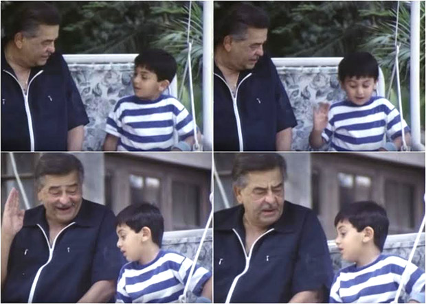 Check out This throwback photo of toddler Ranbir Kapoor with grandfather Raj Kapoor is adorable