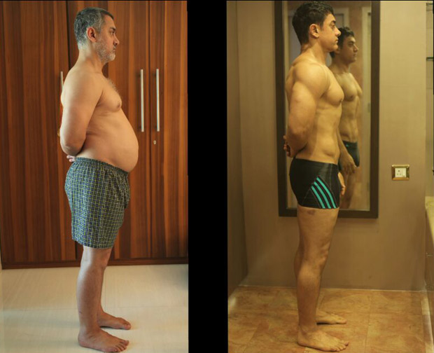 Aamir Khan's trainers RUBBISH the rumors of him taking steroids