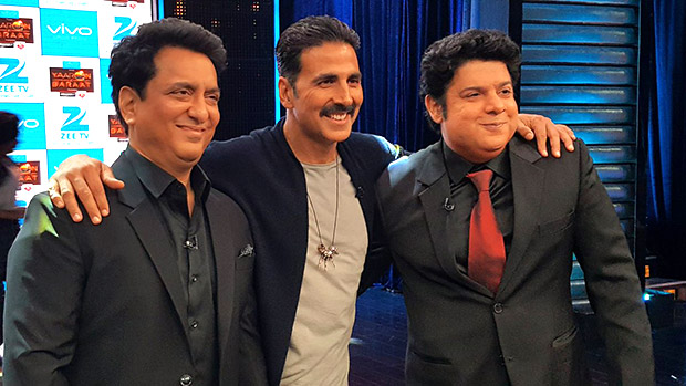 Check out Akshay Kumar and Sajid Nadiadwala grace the finale of Yaaron Ki Baraat
