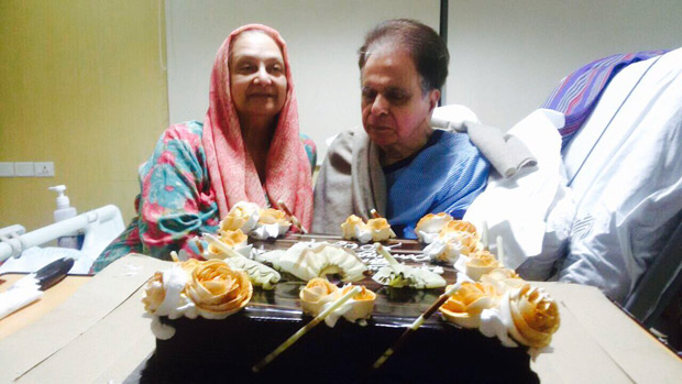 Check out Dilip Kumar celebrates his birthday in the hospital