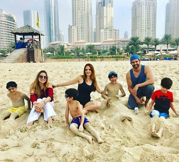 Check out: Hrithik Roshan and Sussanne Khan in Dubai