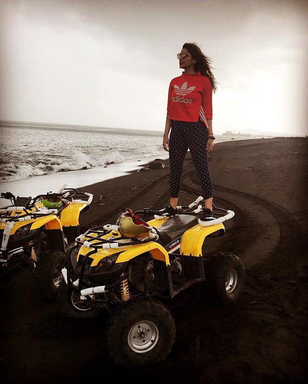 Check out: Parineeti Chopra riding an ATV