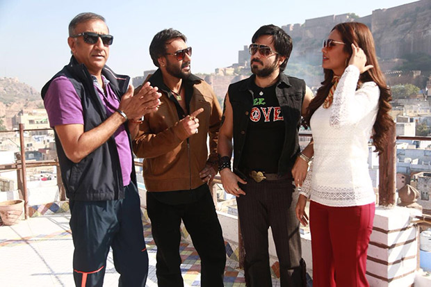 Here's how Ajay Devgn and Emraan Hashmi announced the release date of Baadshaho1