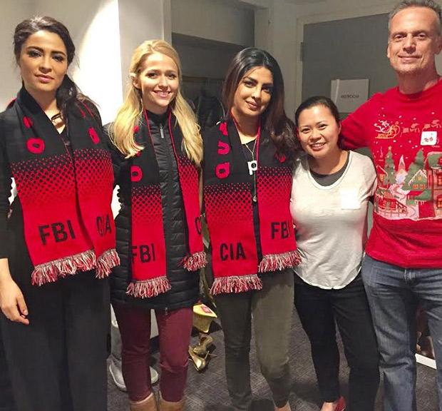 Priyanka Chopra begins Christmas
