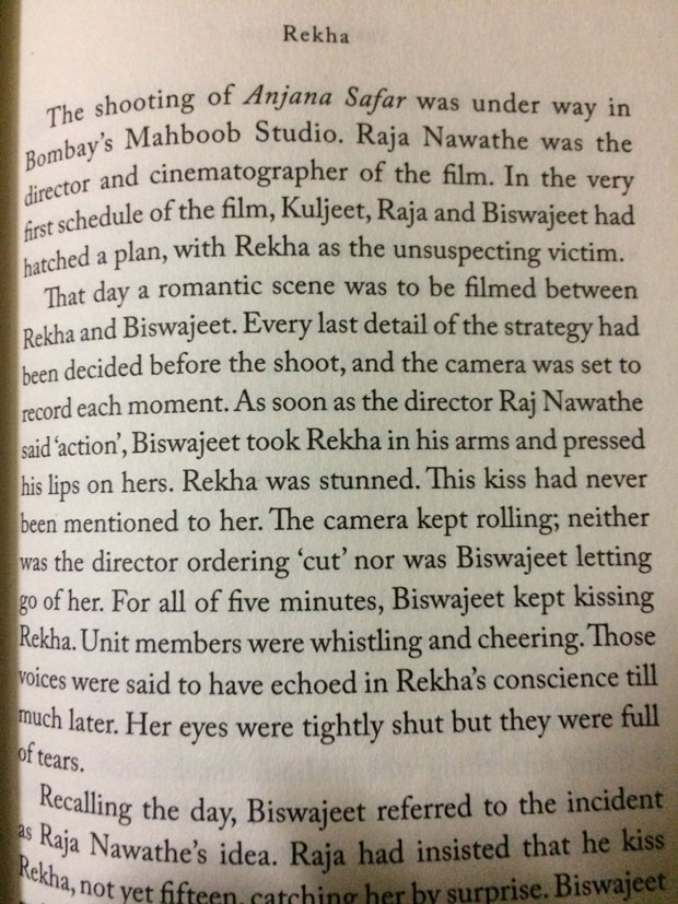 SHOCKING Rekha was allegedly molested by actor Biswajeet at the age of 15