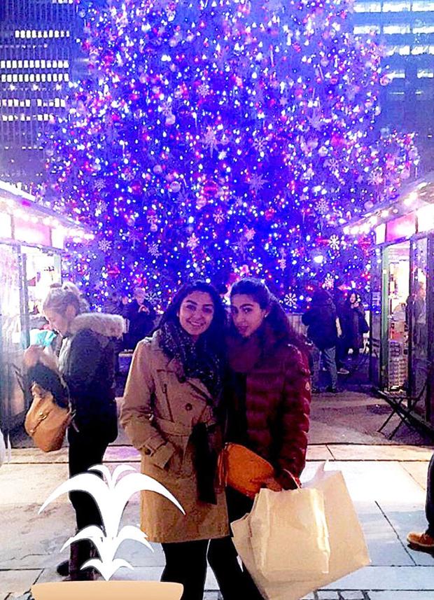 Saif Ali Khan's daughter Sara Khan set for Christmas season
