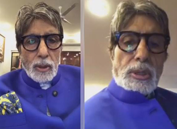 Watch Amitabh Bachchan gives a peek of his office in a live stream