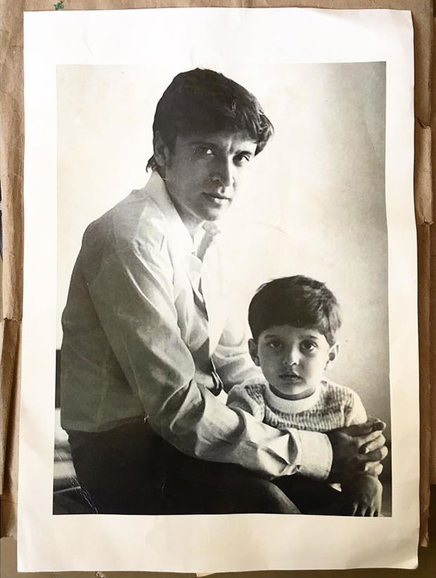 Zoya Akhtar shares a memory of Javed Akhtar with a younger Farhan Akhtar