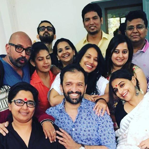 Vidya Balan begins shooting for Tumhari Sulu