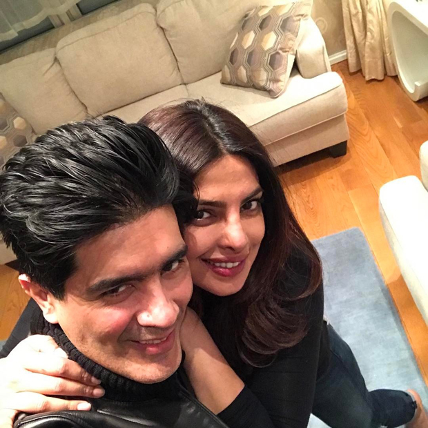 Manish Malhotra surprises Priyanka Chopra in New York