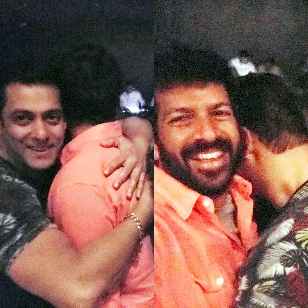 Salman Khan and Kabir Khan hug it out after Tubelight wrap up