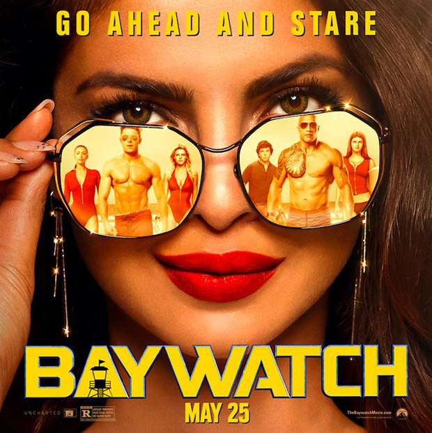 Did Baywatch copy the poster featuring Priyanka Chopra from Shah Rukh Khan's Baazigar and Kate Hudson's Almost Famous-2