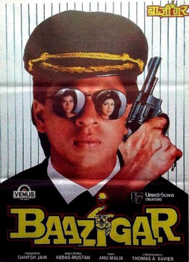 Did Baywatch copy the poster featuring Priyanka Chopra from Shah Rukh Khan's Baazigar and Kate Hudson's Almost Famous-3