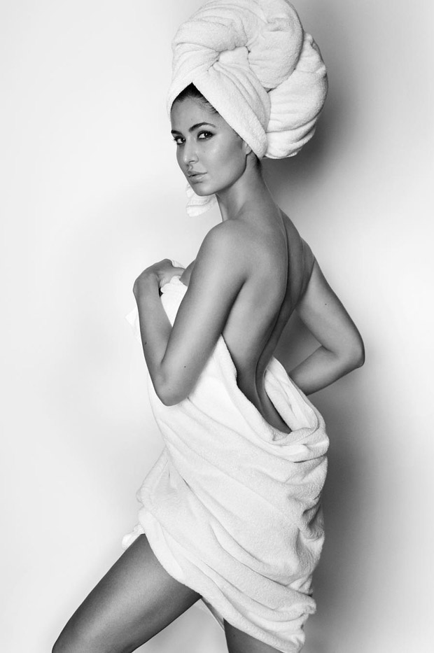 HOT Katrina Kaif's hot look in a nothing but a towel is set to break the internet