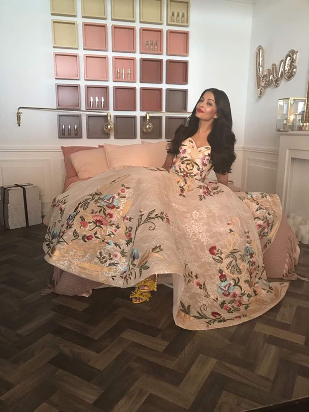 Aishwarya Rai Bachchan looks regal in this floral gown at Cannes 2017-1