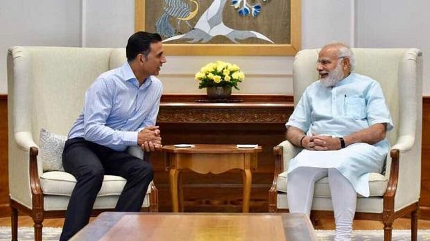 Akshay Kumar met Prime Minister