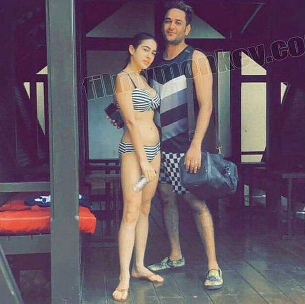 HOT! Saif Ali Khan's daughter Sara Ali Khan heats up the summer in a bikini