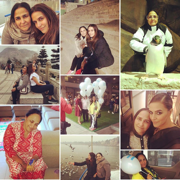 Neha Dhupia share heartwarming messages on Mother's Day