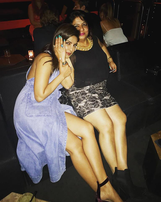 Priyanka Chopra hits back at trolls by showing off her legs with mom Madhu Chopra Features