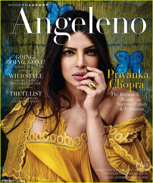 Priyanka Chopra mesmerizes on different covers of Modern Luxury magazines; talks about facing sexism