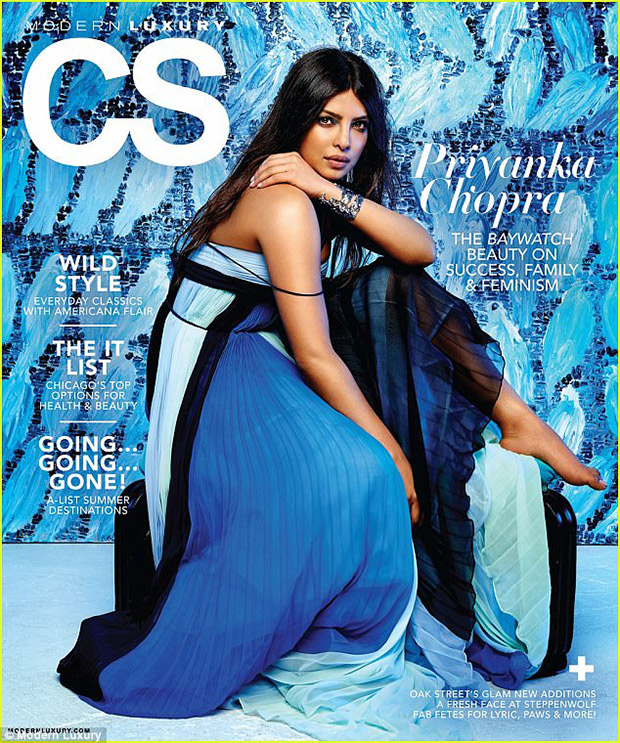 Priyanka Chopra mesmerizes on different covers of Modern Luxury magazines; talks about facing sexism1