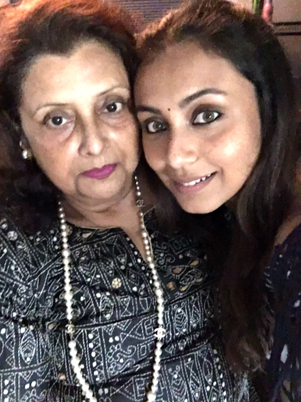 Rani Mukherji spends quality time with mom on Mother's Day
