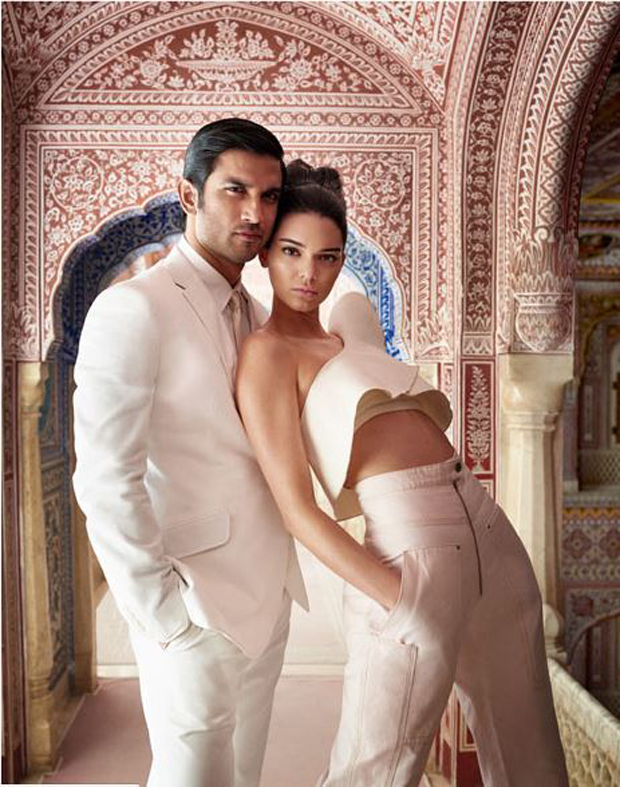 Sushant Singh Rajput and supermodel Kendall Jenner raise the temperatures playing muse to Mario Testino for Vogue India-1