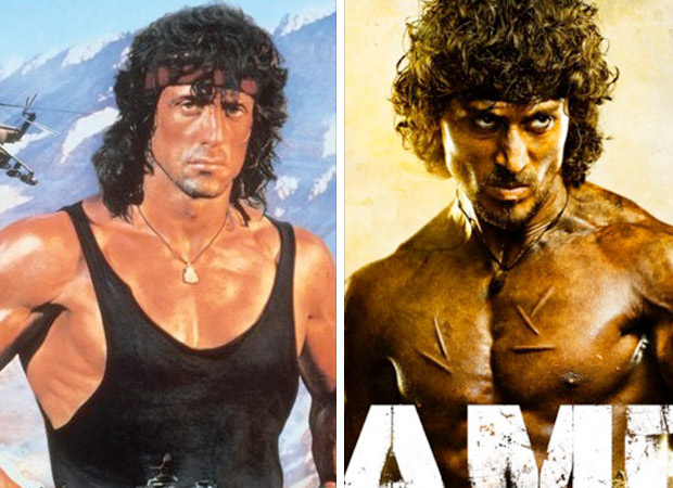 This is what Hollywood superstar Sylvester Stallone said to the new Rambo Tiger Shroff