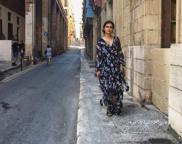 Behind the Scenes Fatima Sana Shaikh is living the Malta life while filming Thugs of Hindostan-3