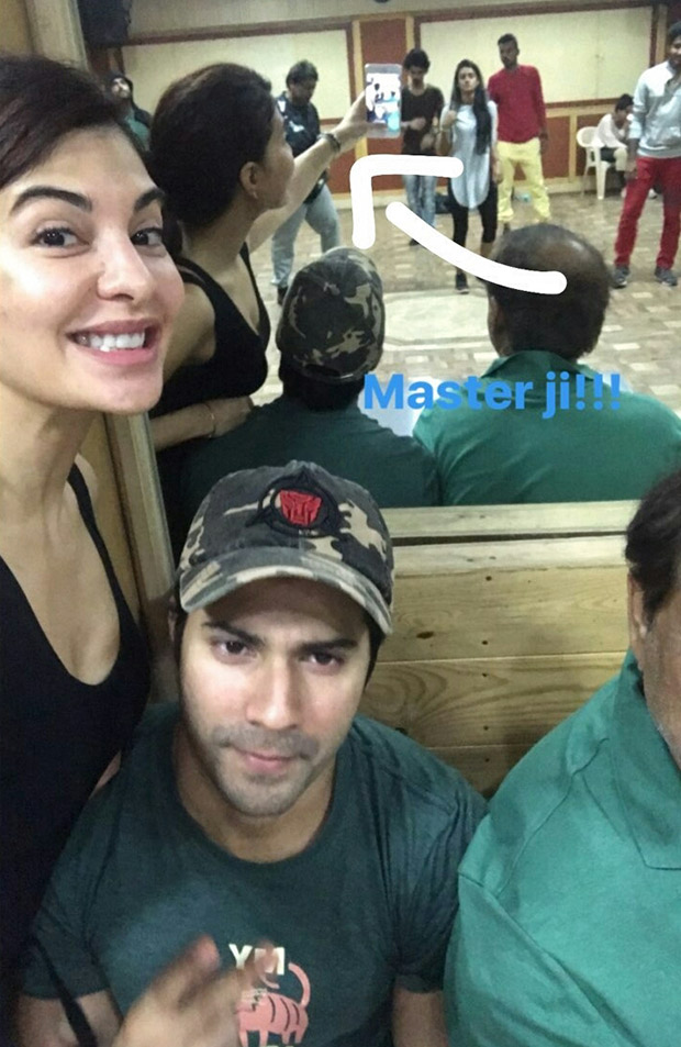 Check out Varun Dhawan, Jacqueline Fernandez and Taapsee Pannu begin rehearsals for 'Tan Tana Tan' for Judwaa 2-2