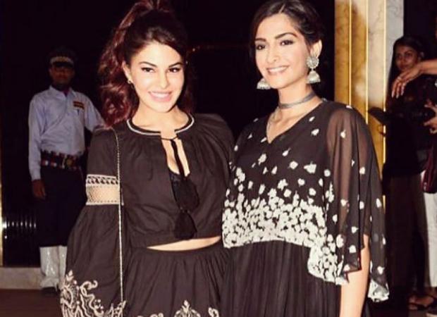 Friends Forever Sonam Kapoor and Jacqueline Fernandez make it a girls' night at Gauri Khan's restaurant opening-2