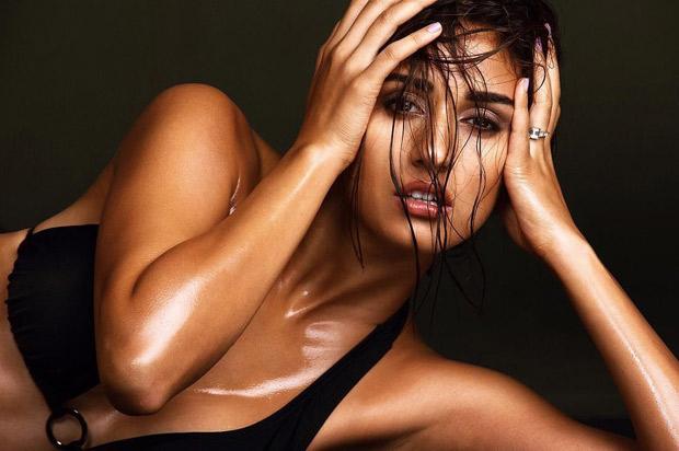 HOT! Disha Patani sizzles in a black bikini and a tan look