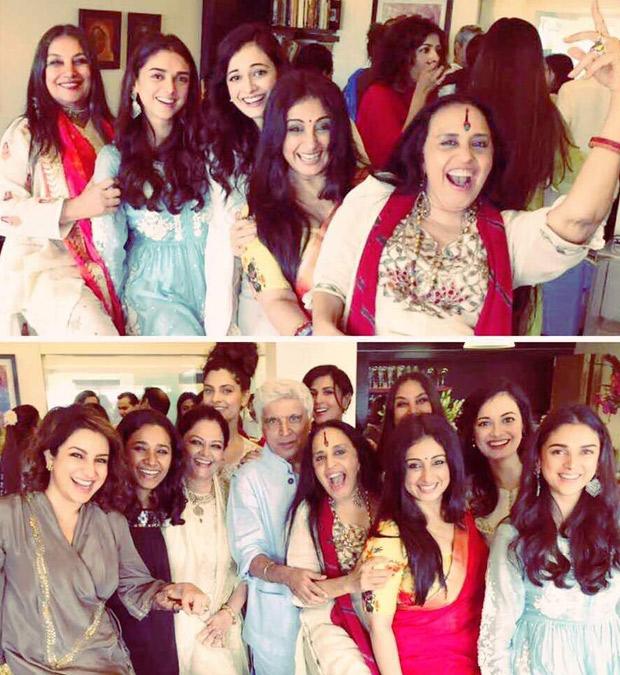 INSIDE PHOTOS Aditi Rao Hydari, Richa Chadha, Saiyami Kher and others celebrate Eid with Shabana Azmi and family-1
