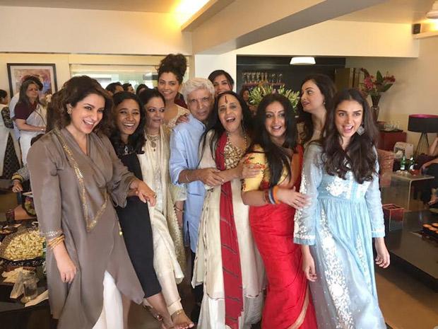 INSIDE PHOTOS Aditi Rao Hydari, Richa Chadha, Saiyami Kher and others celebrate Eid with Shabana Azmi and family-3