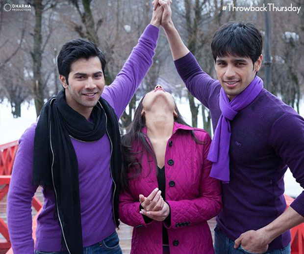Karan Johar, Varun Dhawan and Sidharth Malhotra caught in a pensive mood-1
