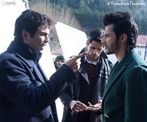 Karan Johar, Varun Dhawan and Sidharth Malhotra caught in a pensive mood-2