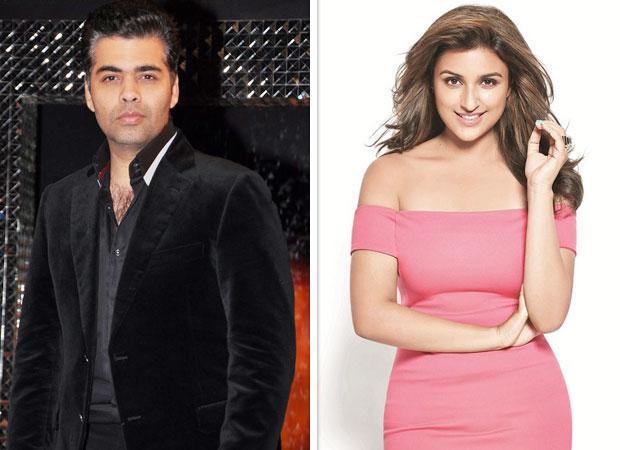 Karan Johar takes a sly dig at Bollywood celebs' airport looks; Parineeti Chopra agrees features