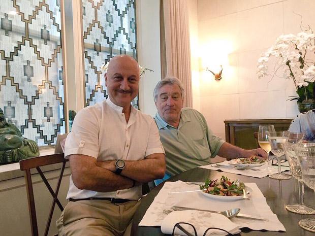 CAPTURED: Anupam Kher's fanboy moment with Robert De Niro