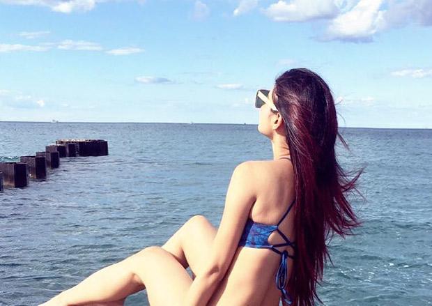 Mouni Roy in a bikini