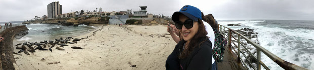 SPOTTED Madhuri Dixit Nene holidaying in USA