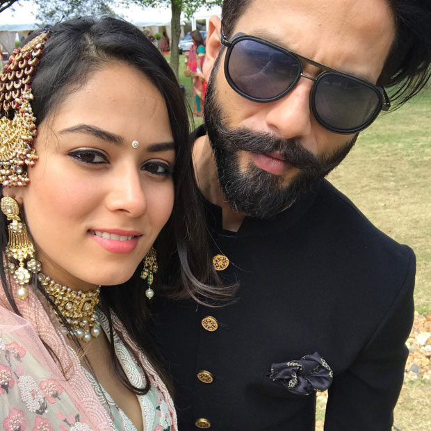 Shahid Kapoor and Mira Rajput look royal at a recent wedding in London-1