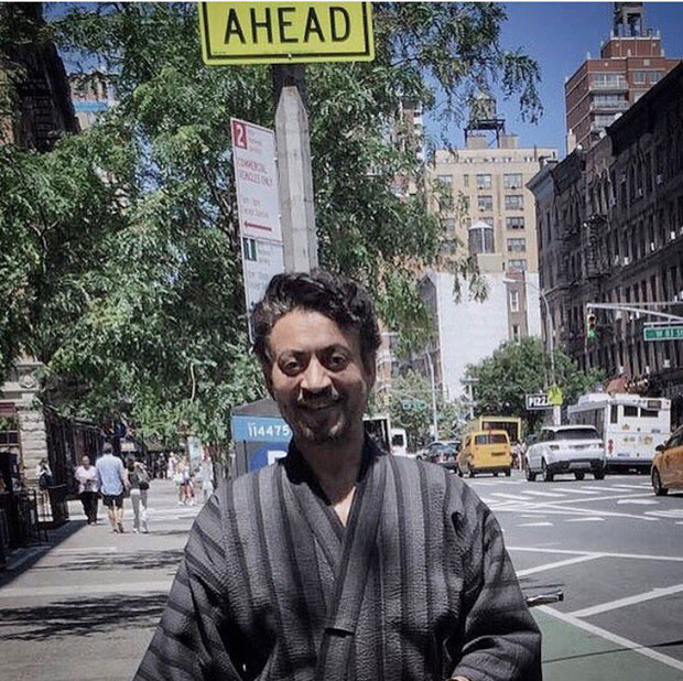 This is how Irrfan Khan is having fun in New York shooting for Puzzle-1