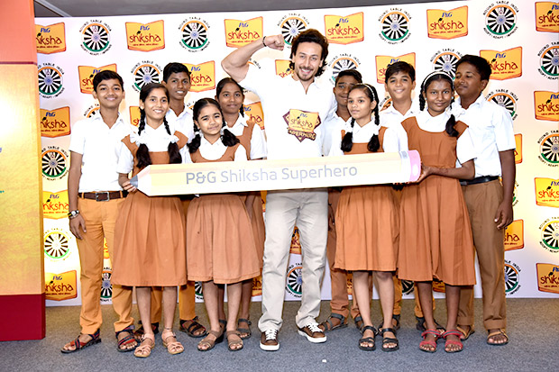 WOW! Tiger Shroff collaborates for children's education and here are the details