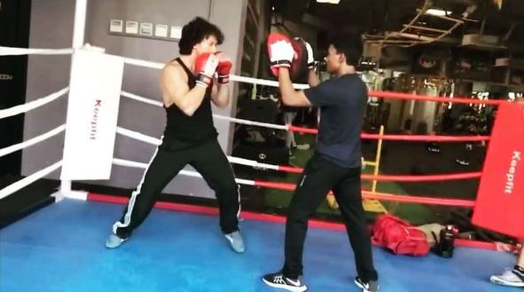 Tiger Shroff is back to the grind