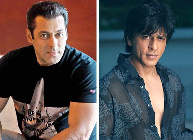 Watch Salman Khan's hilarious reaction when Shah Rukh Khan puts him on babysitting duty