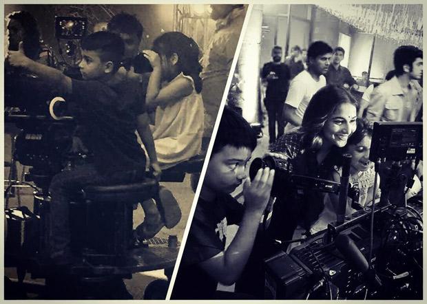 When Vidya Balan's nephew and niece directed for Tumhari Sulu